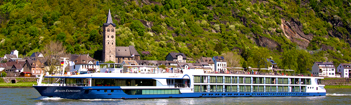 Avalon Espression River Cruise Ship
