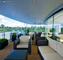 Panoramic windows throughout every ship.