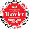 2016 Conde Nast Reader's Choice Award - Avalon Waterways