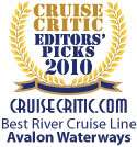 Avalon Waterways - Cruise Critic 2010 Best River Cruise Line