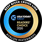 Avalon Waterways - USA Today 2018 10Best River Cruises