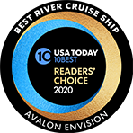 USA Readers'' Choice - Best River Cruise Ship