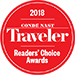 Conde Nast Traveler Readers Choice Awards - Top River Cruises Finalist
