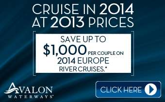Cruise in 2014 at 2013 prices.