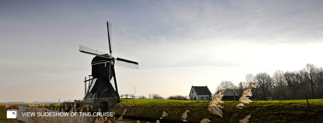 Windmills, Vineyards & Paris from Amsterdam to Paris