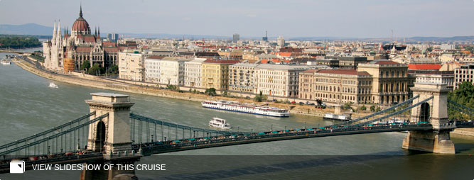A Taste of the Danube - Cruise Only from Vienna to Budapest